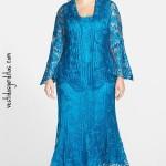 ☾ Vestido de seda y saco ☽